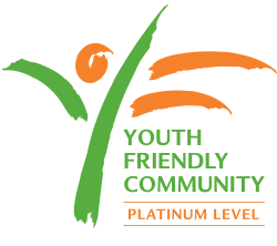 Youth Friendly logo - Platinum Level